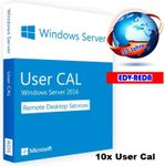 Windows Server 2012 R2 CAL (RDS) 10 User