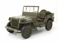 WILLY'S JEEP OFFEN 1941 1:18 WELLY