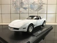 Chevrolet Corvette Coupe 1982 weiss 1/18