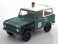 1967 FORD BRONCO NYPD   1:18 GREENLIGHT