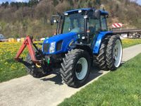 New Holland TL 100A mit Fronthydraulik
