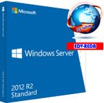 Windows Server 2012 R2 Standard 32/64Bit