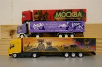 3 Swiss Collection Modelle Milka 1:87