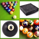 Billardkugeln Billard Queues 16tlg. 57mm