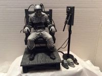 Sin City Marv Statue Electric Chair