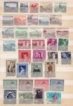 Briefmarken Lot Liechtenstein ab 1943
