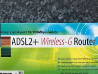 ADSL2+ Wireless-G Router f. ISDN