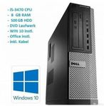 DELL PC: i5-3470, 8 GB RAM, 500 GB HDD,
