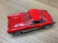 FranklinMint 1957 Red Chevrolet Corvette