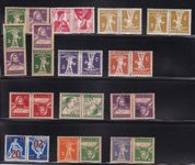 "CH Briefmarken Lot ""Kehrdruck"""