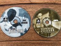 PS1 Rainbow Six & Tomb Raider IV Spiel