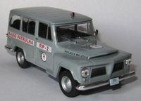 Jeep Willy Rural 1960-1972 Policia