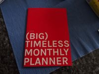 Timeless Monthly Planner (BIG)