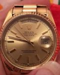 ROLEX OYSTER DAY 36 DATE 18k Gold