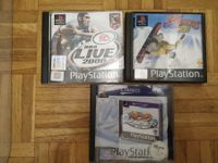 PS1 - Cool Boarders 2 - Moto Racer - NBA