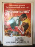 Filmplakat Gone with the Wind