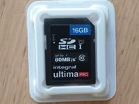 SD Karte 16GB up to 80MB/s