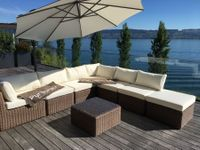 Rattan Lounge in Nature