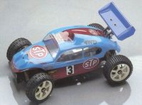 VW Käfer Buggy 1:8 Karosserie