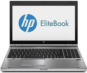 HP Elitebook 8570p, i7, SSD, Bag, Maus