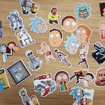 Rick and Morty Sticker Set 35 Stk.