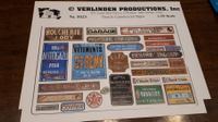 VERLINDEN French Commercial Signs 1:35