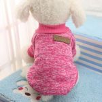Pull sweat Puppy rose pour chien 24cm