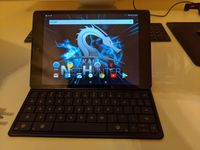 Google Nexus 9 mit keyboard