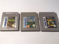 3 x Turtles editions Gameboy