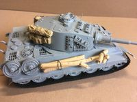 """Tiger II 1:35 """"What if"""""""
