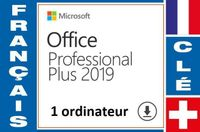 Office 2019 Pro Plus 1 ordinateur [1320]