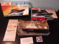 2 SCALECRAFT SHIP MODEL KITS MOTORIZED