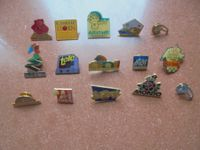 Lot de pins divers - 15 x
