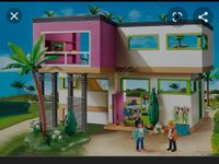Playmobil Villa mit Pool