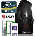 MEGA GAMER PC NEU! INTEL i7