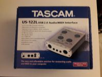 Tascam US122L Audio Midi Interface