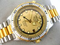 HEUER 1980ER AIRLINE GMT NEW OLD STOCK