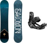 Snowboard mit Bindung Salomon Sight