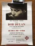 Reproduction affiche concert Bob Dylan