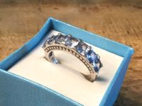 VINTAGE RING STERLING 925 AQUAMARINE