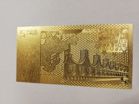Gold 5 EURO Note