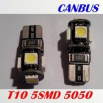 LED T10 W5W 5SMD CANBUS