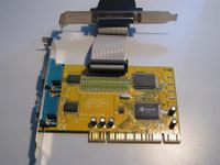 Dual Serial Port PCI InterfaceCard