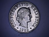 5 Centimes 1933 top