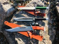 3 Stück Rambo Competition Messer Bundle