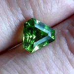Peridot Pakistan 2.55 Karat Custom Cut