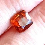 Hessonite Garnet Granat Sri Lanka 4.6 ct