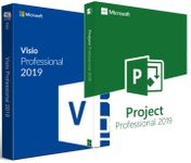 Visio + Project Professional 2019 1 PC