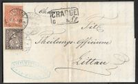 1881 CHARGE LUZERN Nr. 45+48 top ab 1.-