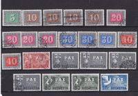 "CH Briefmarken Lot ""PAX"" 1945"